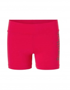 Papillon hotpants Flip-Over Radhose Damen Fuchsia