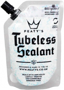 Peaty's Tubeless Sealant bandendichter wit 120 ml