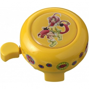 Pexkids bicycle bell Mila yellow