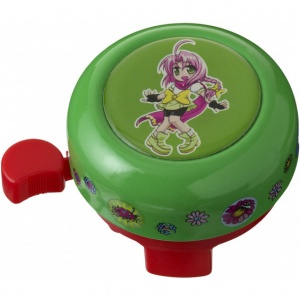 Pexkids bicycle bell Mila green
