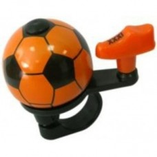 Pexkids bicyclette le football cloche 38 mm orange,
