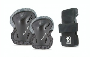 Playlife skate protection set unisex black