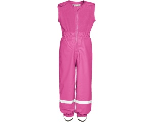 Playshoes regenhose mit Fleecekorpus rosa junior