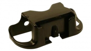 Polisport EL12C Windscreen bracket black 11.5 cm