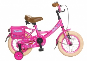 Popal Benthe 12 Inch Girls Coaster Brake Pink
