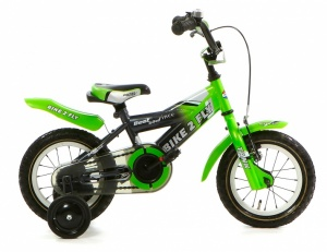 Popal Bike 2 FLY 12 Inch Boys Coaster Brake Green