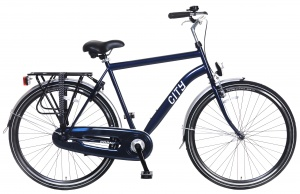 Popal City 28 Inch Men Coaster Brake Blue
