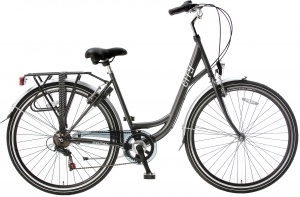 Popal City 28 Inch Woman 6SP Rim Brakes Grey