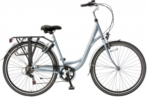 Popal City 28 Inch Woman 6SP Rim Brakes Light blue