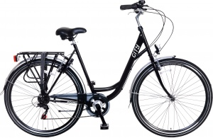 Popal City 28 Inch Woman 6SP Rim Brakes Black