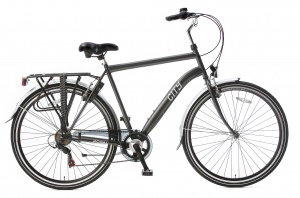 Popal City 6 Speed 28 Inch Men 6SP Rim Brakes Grey