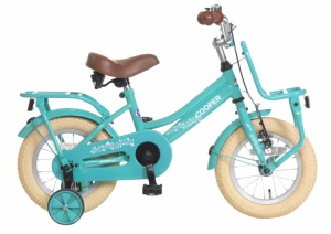 Popal Cooper 12 Inch Girls Coaster Brake Turquoise