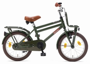 Popal Cooper 18 Inch Boys Coaster Brake Army Green
