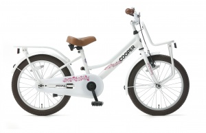 Popal Cooper 18 Inch Girls Coaster Brake White