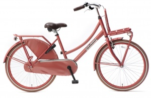 Popal Daily Dutch Basic S 24 Inch 42 cm Girls Coaster Brake Red