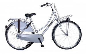 Popal Daily Dutch Basic 28 Inch Dames V-Brakes Zilver