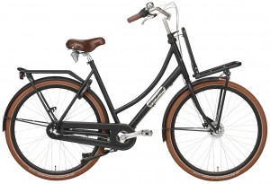 Popal Daily Dutch Prestige 28 Inch 57 cm Women 3SP Roller brakes Matte black
