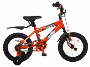 Popal Duncan 12 Inch Boys Coaster Brake Orange