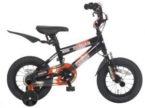 Popal Duncan 12 Inch Boys Coaster Brake Black