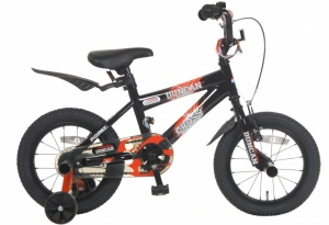 Popal Duncan 14 Inch Boys Coaster Brake Black
