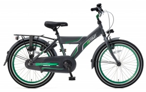 Popal Funjet X 20 Inch Boys Coaster Brake Green/Grey