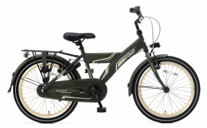 Popal Funjet X 20 Inch Boys Coaster Brake Army Green