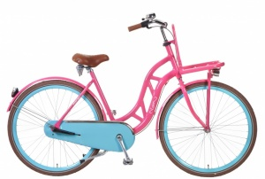 Popal Fusion 28 Inch Woman 3SP Coaster Brake Pink