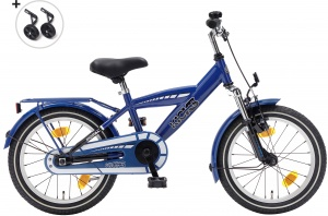 Popal Kicks 16 Inch Boys Coaster Brake Blue