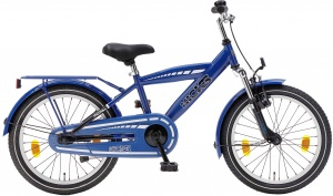 Popal Kicks 18 Inch Boys Coaster Brake Blue