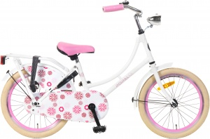Popal omafiets 18 Inch Girls Coaster Brake White