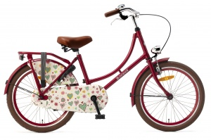 Popal Omafiets 20 Inch Girls Coaster Brake Red