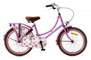 Popal Omafiets 20 Inch Girls Coaster Brake Pink
