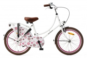 Popal Omafiets 20 Inch Girls Coaster Brake White