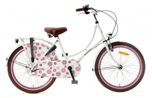 Popal Omafiets 22 Inch Girls 3SP Coaster Brake White
