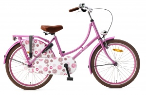 Popal Omafiets 22 Inch Girls Coaster Brake Pink
