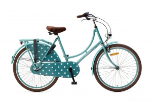 Popal Omafiets 26 Inch Girls 3SP Coaster Brake Turquoise