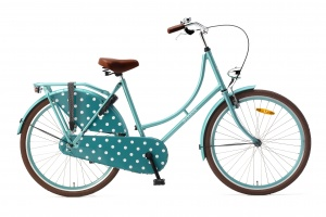 Popal Omafiets 26 Inch Girls Coaster Brake Aqua