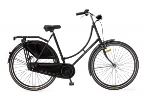 Popal omafiets basic 28 Inch Woman Coaster Brake Black