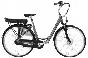 Popal Sway 28 Inch Woman 3SP Roller brakes Silver grey