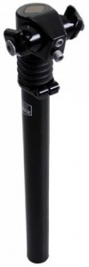 Post Moderne seat post spring loaded 27.2 x 300 mm aluminium black