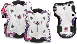 Powerslide protection set Butterfly white