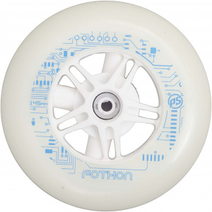 Powerslide wheels Infinity luminous 145 mm/82A white each