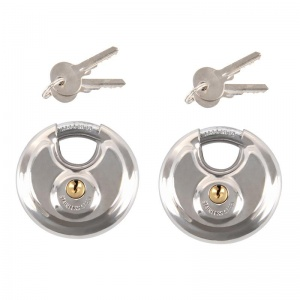 ProPlus disc lock 70 mm 2 pieces equally closed in blister
