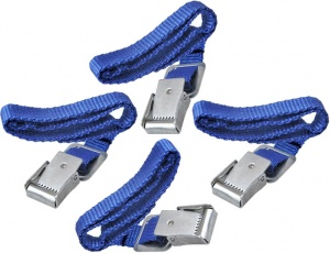 ProPlus bicycle straps with metal buckle 40 cm blue 4 pieces