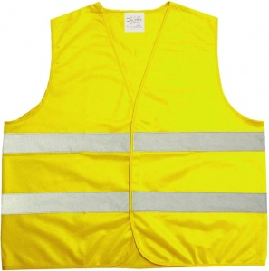 ProPlus safety vest yellow one size