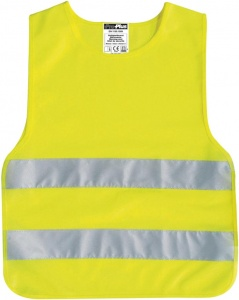 ProPlus safety jacket junior yellow one size