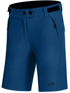 Protective fietsbroek P-After Hour dames polyamide blauw