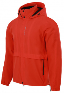 Protective imperméable P-Time Travel hommes polyester rouge