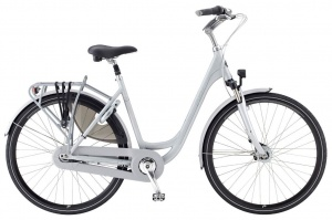 Puch Ambient 28 Inch Dames 7V Rollerbrakes Grijs