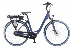 Puch E-Ambient 28 Inch Dames 7V Rollerbrake Blauw